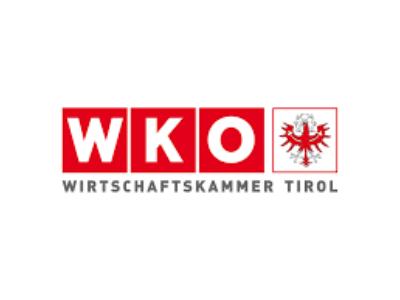 Logo von der Wirtschaftskammer Tirol.