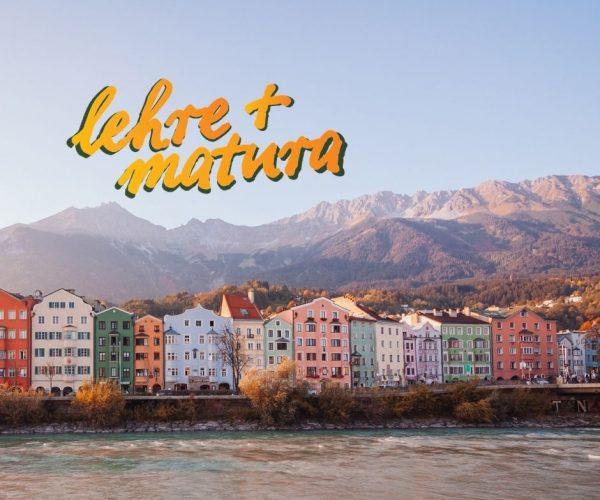 Dieses Bild zeigt die malerische Häuserwand in Innsbruck